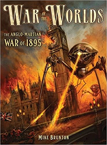 War Of The Worlds The Anglo Martian War Of  Dark Osprey Mike Brunton Alan Lathwell  Amazon Com Books