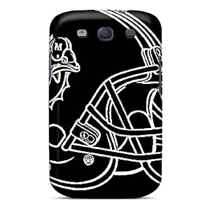 Protector Cell-phone Hard Cover For Samsung Galaxy S3 (ORC5867JHwS) Provide Private Custom HD Miami Dolphins Pictures