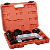 DA YUAN 4 in 1 Ball Joint Service Tool Kit 2WD & 4WD Remover Installer W/4-wheel Drive Adapters