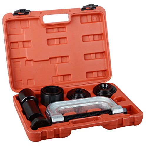 DA YUAN 4 in 1 Ball Joint Service Tool Kit 2WD & 4WD Remover Installer W/4-wheel Drive Adapters ()