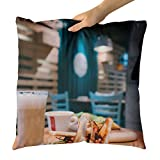 Westlake Art - Brunch Fresh - Decorative Throw Pillow Cushion - Picture Photography Artwork Home Decor Living Room - 18x18 Inch (0A90F)