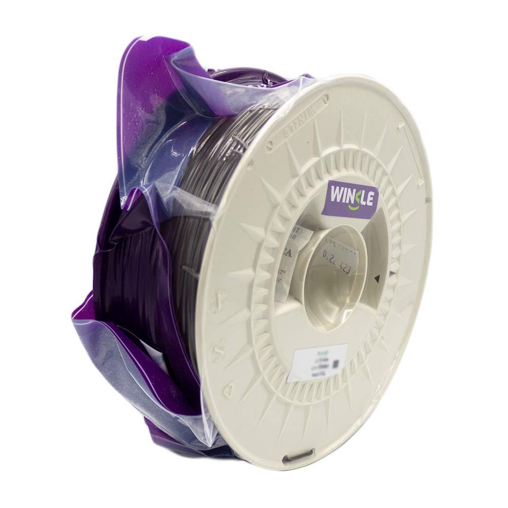1.75 mm Winkle Filamento PLA HD Bobina 1000 gr Marron Ebano Filamento para Impresi/ón 3D
