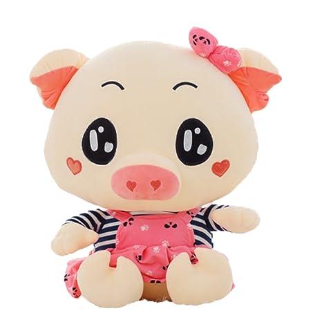 Good Night Cerdo de Dibujos Animados Sofá de Juguete de Peluche para Niños y niñas,