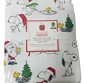 Amazon Com New Pottery Barn Kids Christmas Snoopy Peanuts