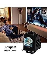 AHLIGHTS 915B403001 Mitsubishi - Lámpara de repuesto para televisor WD-60735, WD-60737, WD-65736, WD-65737, WD-73735, WD-73737, WD-82837, WD-82737