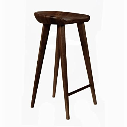 Peachy Tractor Contemporary Carved Wood Barstool Espresso Finish Caraccident5 Cool Chair Designs And Ideas Caraccident5Info