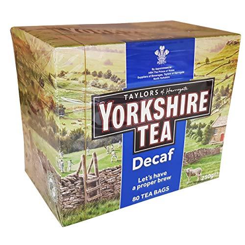 (Yorkshire Decaffeinated Tea, 80 Teabags)