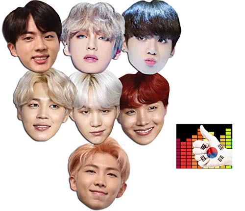 South Korean Costumes For Boys - BundleZ-4-FanZ Mask Pack - Bangtan Boys