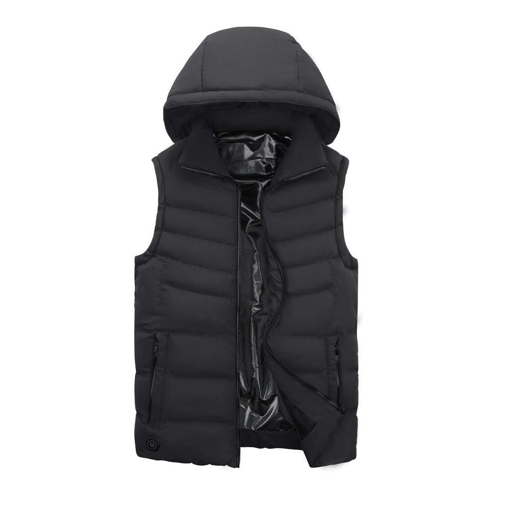 Ohbiger 5V Heated Vest USB Charging Electric Lightweight Heating Warm Vest Heated Jackets for Men Women
