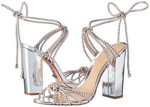 01480088 S2 Sandals Prata Ankle prata Strap Women''s Silver Schutz EUq7zz
