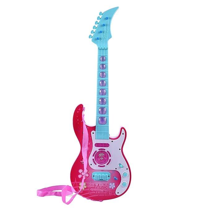 Amazon.com: RuiyiF Toddler Guitar for Girls Boys with Strap ...