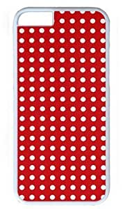Abstract Art Red DIY Hard Shell White iphone 6 plus Case Perfect By Custom Service