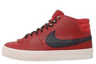 new arrival 6f01c adf28 Amazon.com   Nike Women s Blazer Mid LR, 511242 (US Women s 6 B Medium,  602- Varsity RED Black-SAIL)   Fashion Sneakers