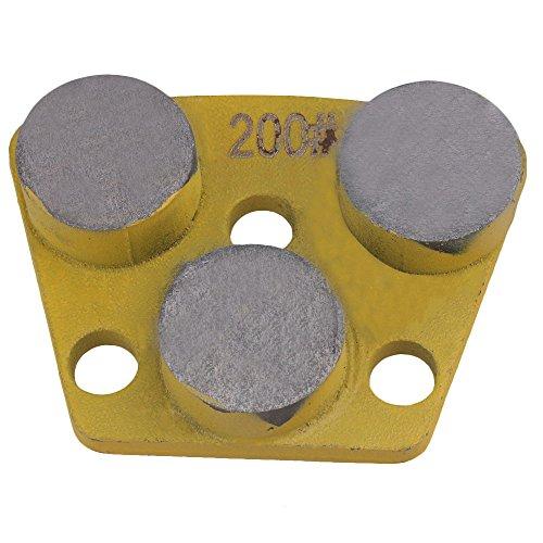 Bond Diamond Disc Metal Grinding (CNBTR PCD Diamond Steel Metal Concrete Trapezoid Grinding Pad Block Scraper Soft Bond Disc Grit 200#)