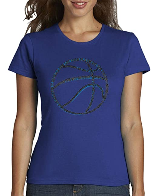 latostadora - Camiseta Tipografa de Baloncesto para Mujer: RBMedia ...