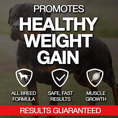 Image of MVP K9 Supplements Formula Mass Weight Gainer for Dogs (90 Servings) Made in The USA - Helps Increase Weight & Adds Mass on Skinny Dogs. (90 Servings)