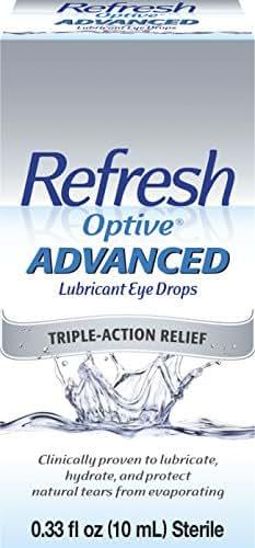 Eye Drops: Refresh Optive Advanced