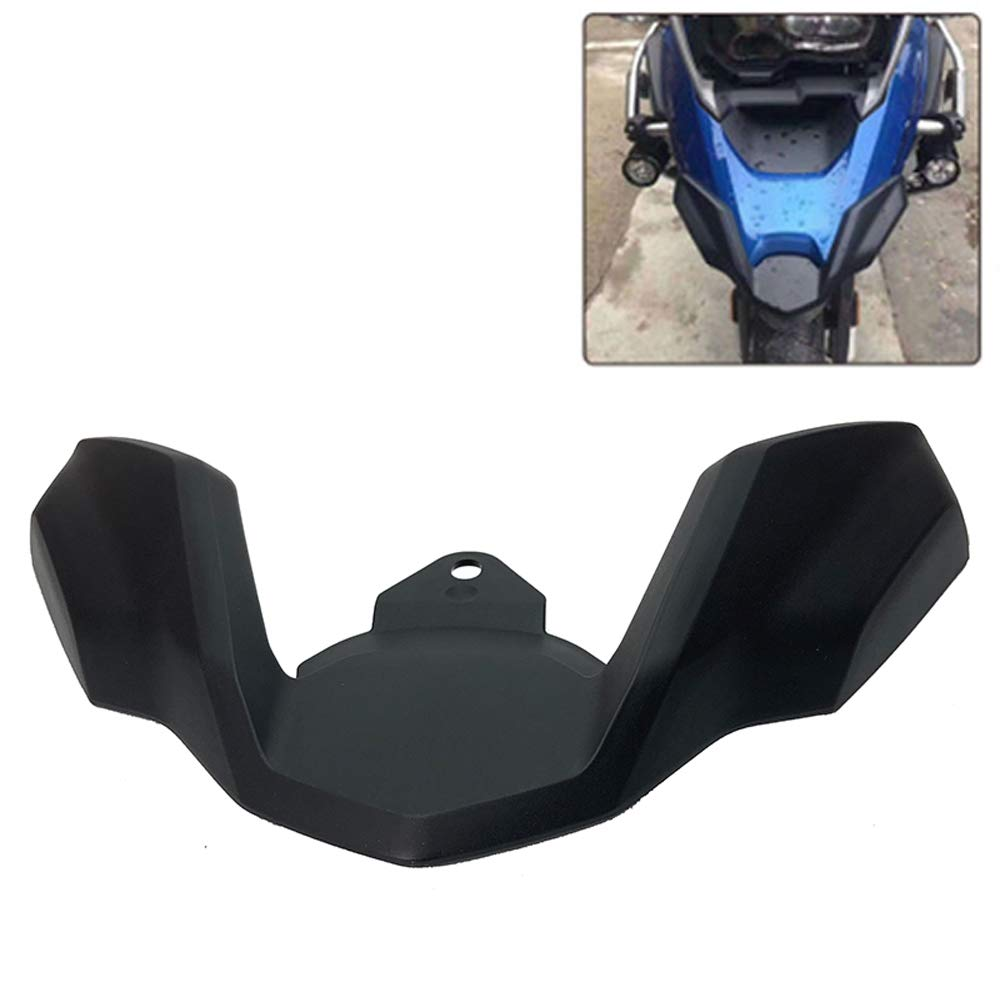Front Fender for BMW R1200GS LC 2018 2019// R1250GS 2019 Motorcycle Parts Front Fender Beak Extension Wheel Cover Cowl Black