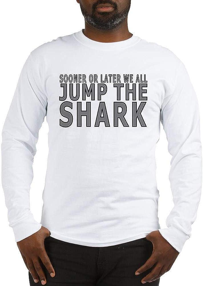 CafePress Jump The Shark Long Sleeve T Shirt Long Sleeve T