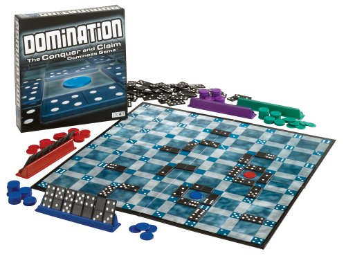 Patch Products Inc. Domination The Conquer and Claim Dominoes Game