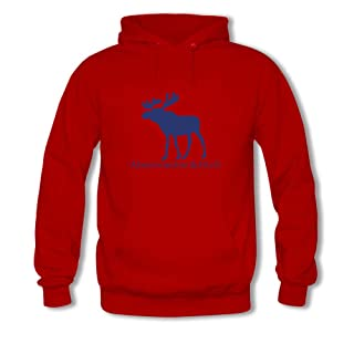 El logotipo de Abercrombie & Fitch para mujer impreso sudadera con capucha