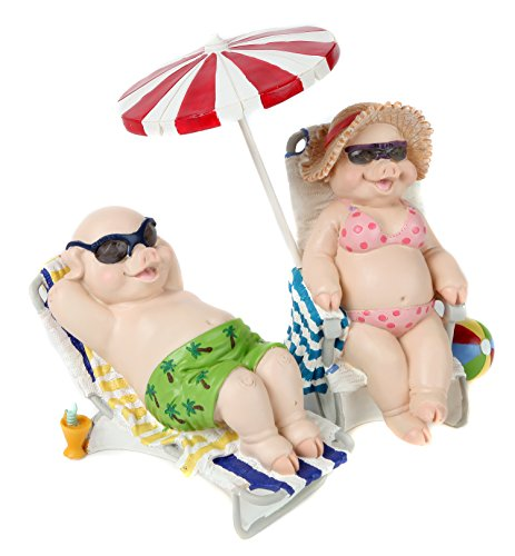 Trenton Gifts Sunbathing Pig Set ()