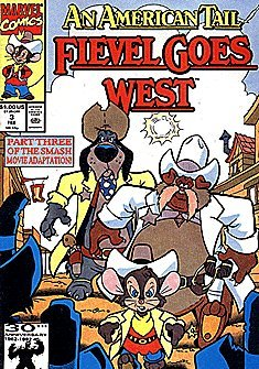 An American Tail: Fievel Goes West (1991 series) #3