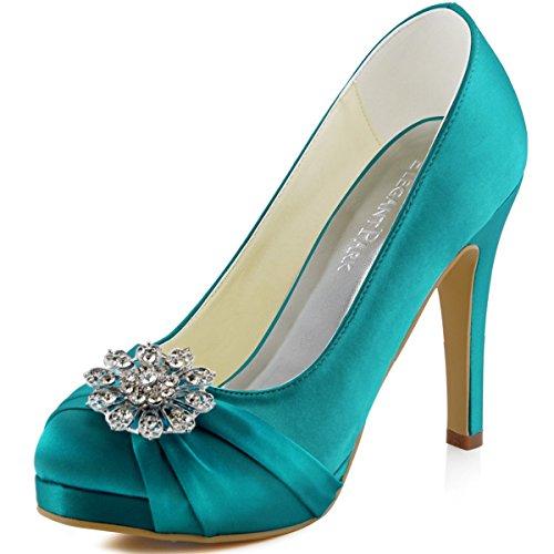 teal heel