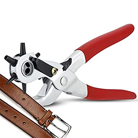 lzn - Alicates perforadores de perforación para Correas de Reloj, 22,8 cm
