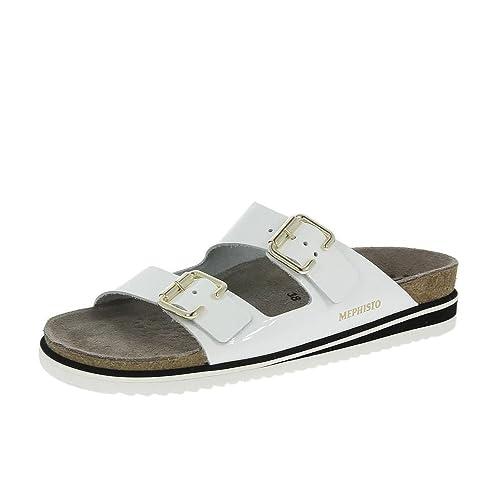 Sandals WhiteAmazon Handbags Mephisto Sandie caShoesamp; 9IDHW2EY