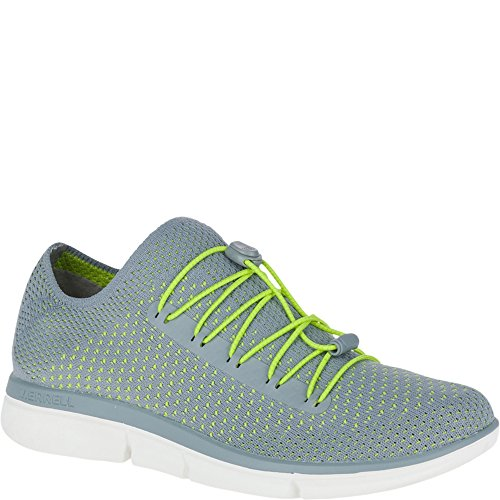 Merrell Womens/Ladies Zoe Sojourn Lace Knit Q2 Lace-up Trainers Shoes Monument