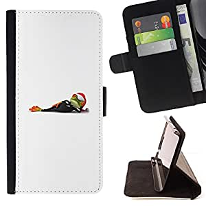 Jordan Colourful Shop - white minimalist Christmas winter holidays For Apple Iphone 5C - Leather Case Absorci???¡¯???€????€???????&bd
