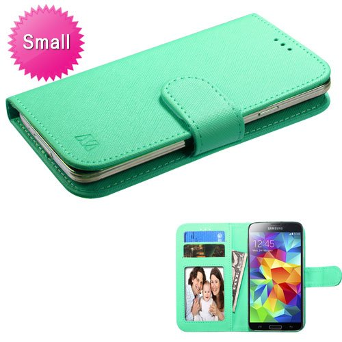 MYBAT Teal Green MyJacket Wallet (235) (No Package) for APPLE iPhone 4S/4 APPLE iPod touch (4th generation) SAMSUNG (Samsung Galaxy Attain 4g Case)