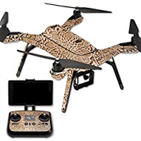 MightySkins Protective Vinyl Skin Decal for 3DR Solo Drone Quadcopter wrap cover sticker skins Carved