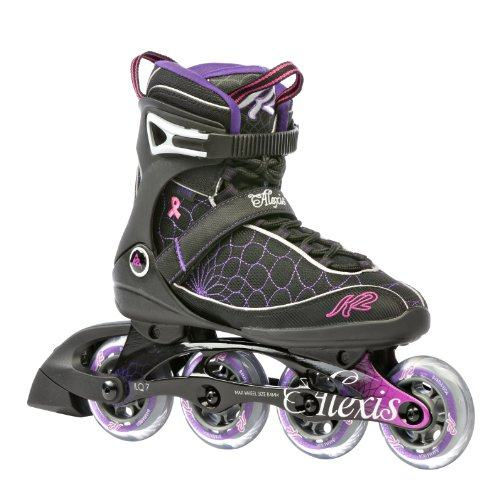 UPC 714636924325, K2 Sports Women's Alexis Fitness 2012 Inline Skates (Black/Pink/Purple, 7)