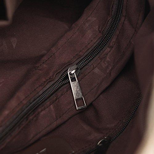 Totes Euramerican MOLLYGAN Canvas Hobo Shopping Purple Stylish Bag Light wvqf6xUF