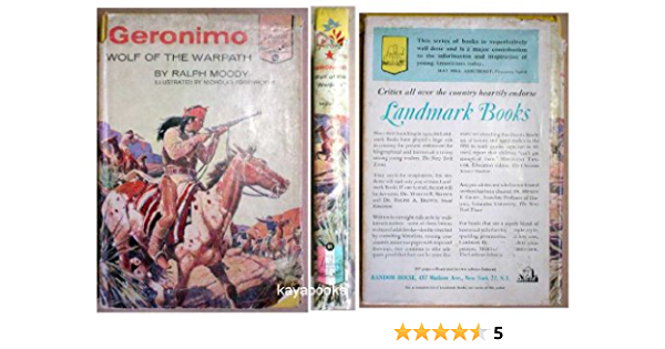 Geronimo Wolf Of The Warpath By Ralph Moody