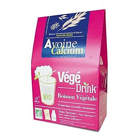 De Bardo - Bebida «Végédrink» de avena enriquecida con calcio - Bebida orgánica en polvo de 500 gr.: Amazon.es: Salud y cuidado personal