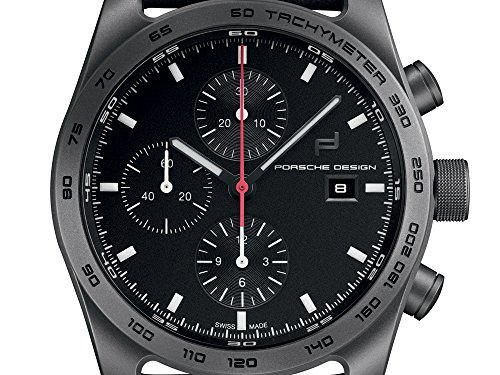 Porsche Design Automatic Watch, Titanium, Chronograph, COSC, 6011.10.406.113