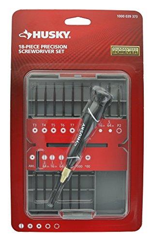 Husky Precision Screwdriver Set 18 Piece
