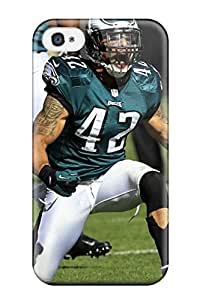 Ultra Slim Fit Hard DanRobertse Case Cover Specially Made For Iphone 4/4s- Philadelphia Eagles L