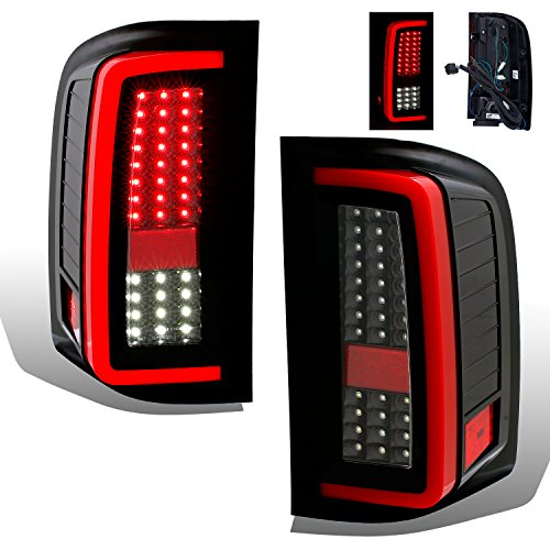 Jdm Black Led Tail Lights - 8