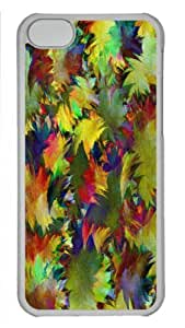 MMZ DIY PHONE CASEForm-Fitting Design with Illustration Painting Abstract Leaf Carpet Hard Plastic Back Case for iphone 6 plus 5.5 inch -519091