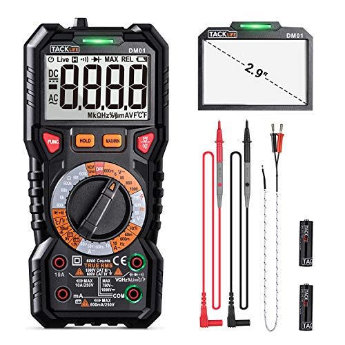 Digital Multimeter TRMS 6000