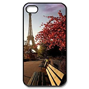 Custom Cover Case with Hard Shell Protection for Iphone 4,4S case with Charming scenery lxa#225175