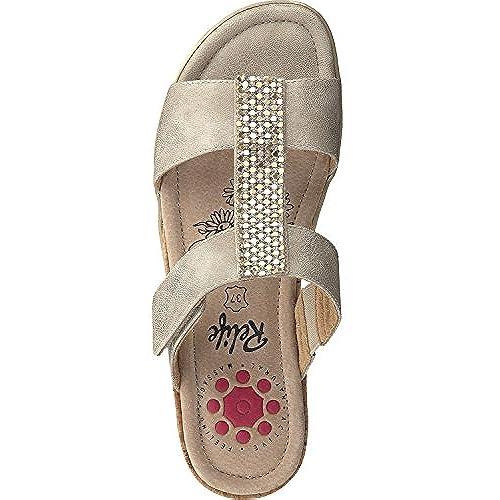 Zapatos Hasta Brillo Talla 8717 44 Relife Mujer Zuecos 17701 Mulas BsrdthCQxo