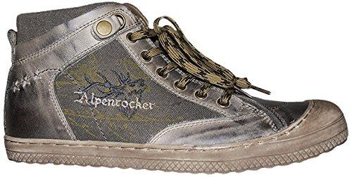 Stockerpoint Herren Schuh 1297 Hohe Sneakers, Braun (Braun Vintage), 41 EU
