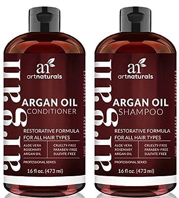 Argan Shampoo Set