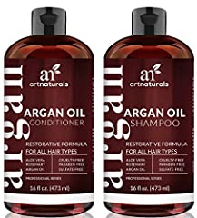 Get it together-and maximize the restorative, revitalizing results to your hair with Art Naturals' Argan Oil Shampoo & Conditioner Duo Set. This power couple is first on The List for moisturizing, strengthening and protecting your crowning glory....