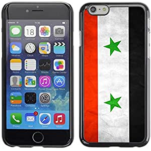 Be Good Phone Accessory // Dura Cáscara cubierta Protectora Caso Carcasa Funda de Protección para Apple Iphone 6 Plus 5.5 // National Flag Nation Country Syria